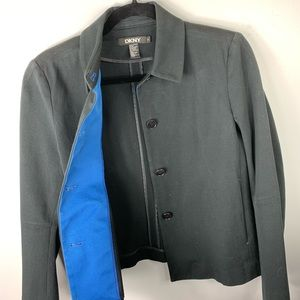 DKNY Black dress jacket